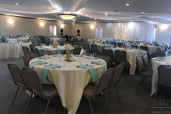 Catering and event venue in Radnor Ohio