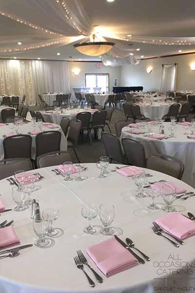 rustic farm wedding facility in Radnor Ohio